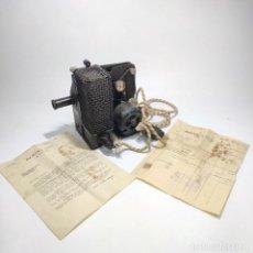 Antigüedades: PROYECTOR CINE 16 MM. KODASCOPE MODEL C. CON FACTURA Y TELEGRAMA DE KODAK. CAJA AMERICAN BOX BOARD.. Lote 284763788