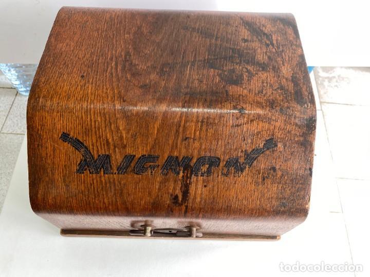 """Antigüedades: maquina de escribir MIGNON """"AEG"""" - Foto 3 - 284771673"""