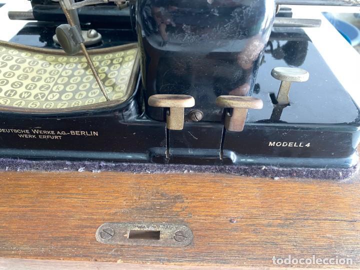 """Antigüedades: maquina de escribir MIGNON """"AEG"""" - Foto 6 - 284771673"""
