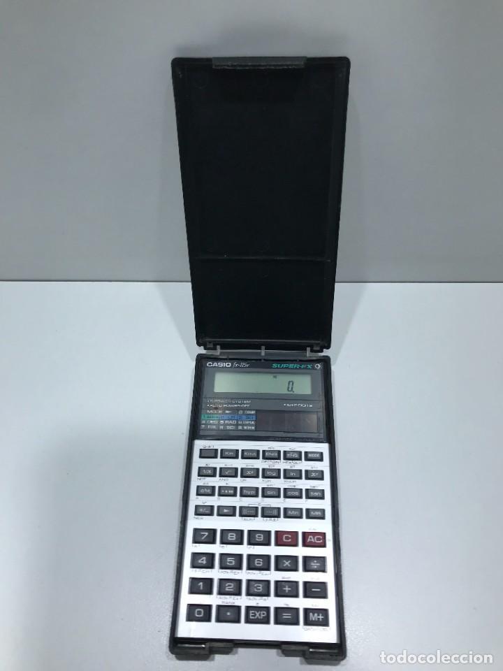 CALCULADORA CIENTÍFICA CASIO FX 115V (Antigüedades - Técnicas - Aparatos de Cálculo - Calculadoras Antiguas)