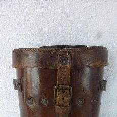 Antigüedades: ESTUCHE DE PRISMATICOS DE CAMPAÑA MILITAR BRITANICO..JOHN & BENNET GREEN 1917. I GUERRA MUNDIAL.. Lote 284782963