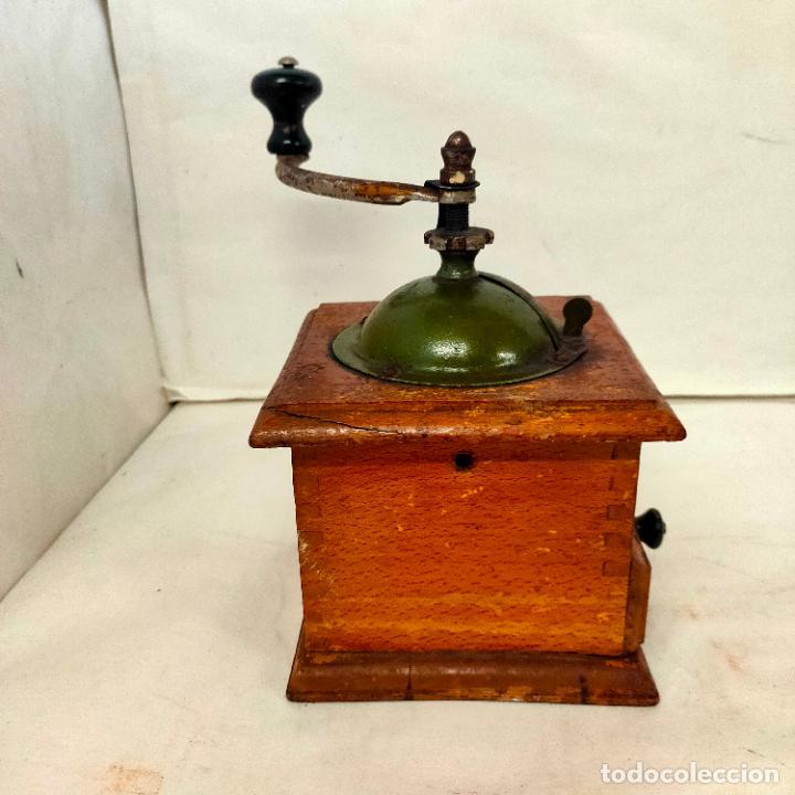 Antigüedades: Molinillo de Cafe de la marca Elma. Muy buen estado y funcionando. Años 40 - Foto 4 - 285094358