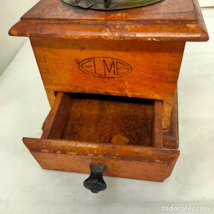 Antigüedades: Molinillo de Cafe de la marca Elma. Muy buen estado y funcionando. Años 40 - Foto 7 - 285094358
