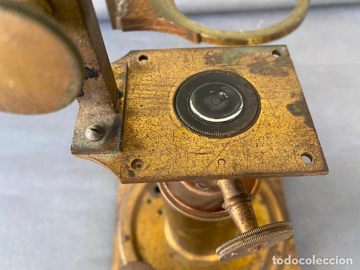 Antigüedades: MICROSCOPIO SOLAR S. XIX , INSTRUMENTO CIENTIFICO .INCOMPLETO - Foto 2 - 285111043
