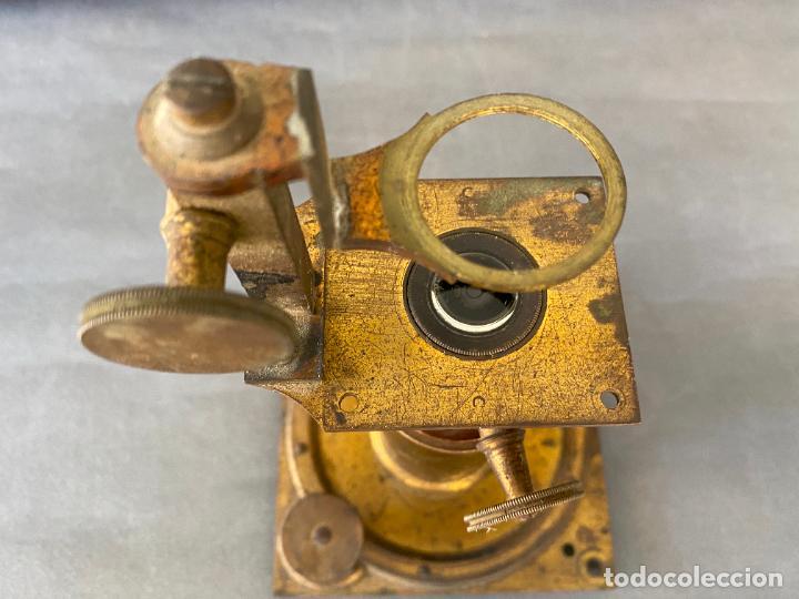 Antigüedades: MICROSCOPIO SOLAR S. XIX , INSTRUMENTO CIENTIFICO .INCOMPLETO - Foto 5 - 285111043