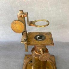 Antigüedades: MICROSCOPIO SOLAR S. XIX , INSTRUMENTO CIENTIFICO .INCOMPLETO. Lote 285111043