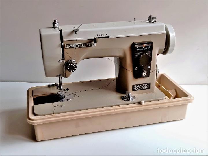 MAQUINA DE COSER NEWHOME + VARIOS (Antigüedades - Técnicas - Máquinas de Coser Antiguas - Otras)