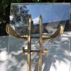 Antigüedades: MANILLA DE PUERTA ANTIGUA. Lote 285487608