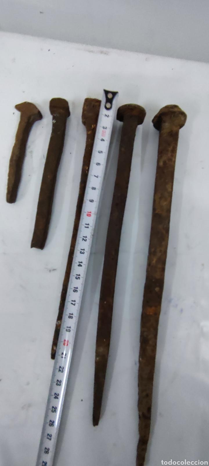 Antigüedades: Lote clavos antiguos - Foto 4 - 285618448