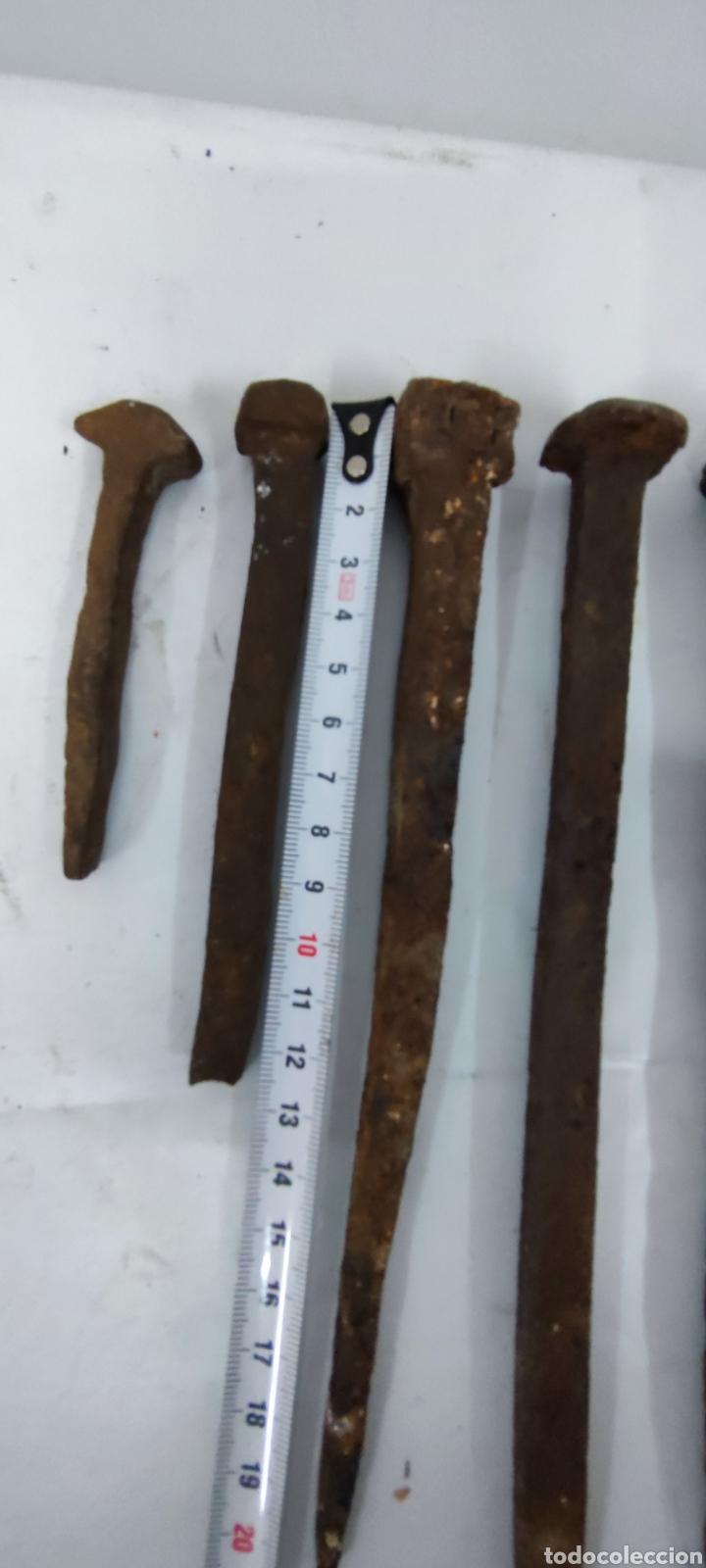Antigüedades: Lote clavos antiguos - Foto 5 - 285618448