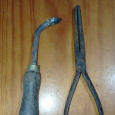 Antiquités: ANTIGUAS HERRAMIENTAS DE ZAPATERO. Lote 285800013