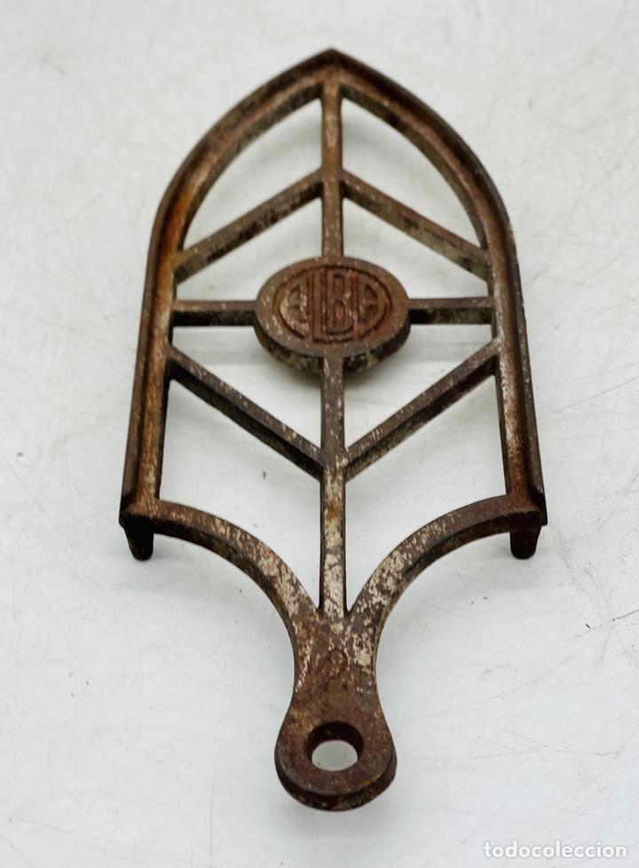 REPOSA PLANCHA INDUSTRIAL (Antigüedades - Técnicas - Planchas Antiguas - Varios)