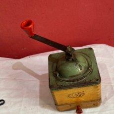 Antigüedades: ANTIGUO MOLINILLO DE CAFÉ ELMA MADERA Y METAL. Lote 286003878
