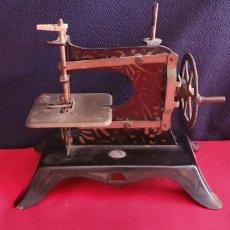 Antiquités: ANTIGUA MAQUINA DE COSER FUNCIONA .VER FOTOS. Lote 286146988