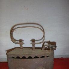 Antigüedades: ANTIGUA PLANCHA DE CARBON. Lote 286167573
