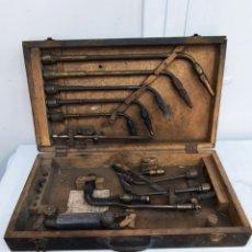 Antigüedades: CAJA MALETA DE SOLDADOR. Lote 286184143