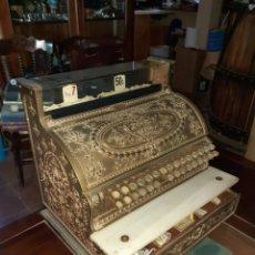 Antigüedades: MAQUINA REGISTRADORA NATIONAL EN PERFECTO ESTADO DE CONSERVACION Y FUNCIONAMIENTO. Lote 286433143