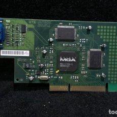 Antigüedades: INFORMATICA RETRO - MATROX G100A/4/OEM - 4MB - AGP - VGA DSUB. Lote 286500553
