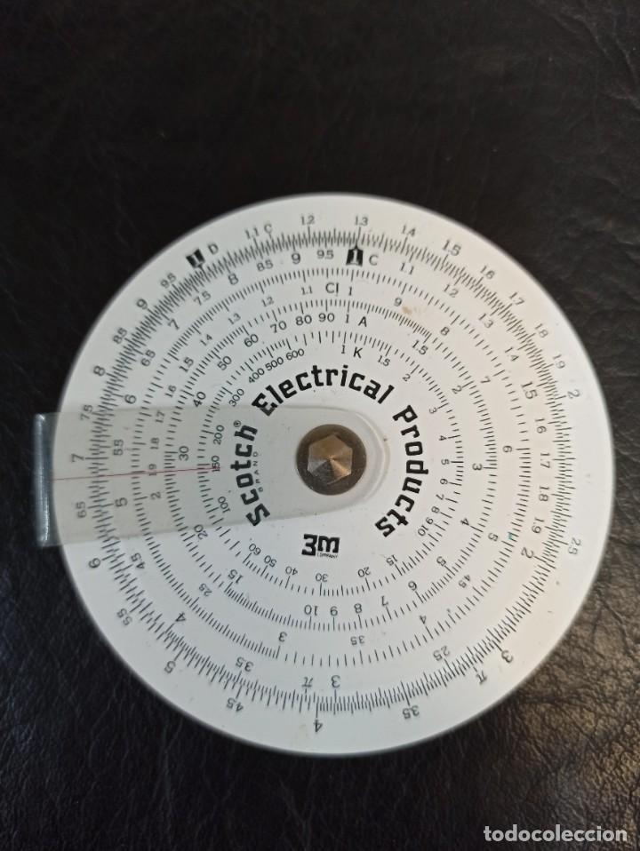Antigüedades: Antigua regla circular. Concise. 3M. Con funda e instrucciones. C74 - Foto 3 - 286628843