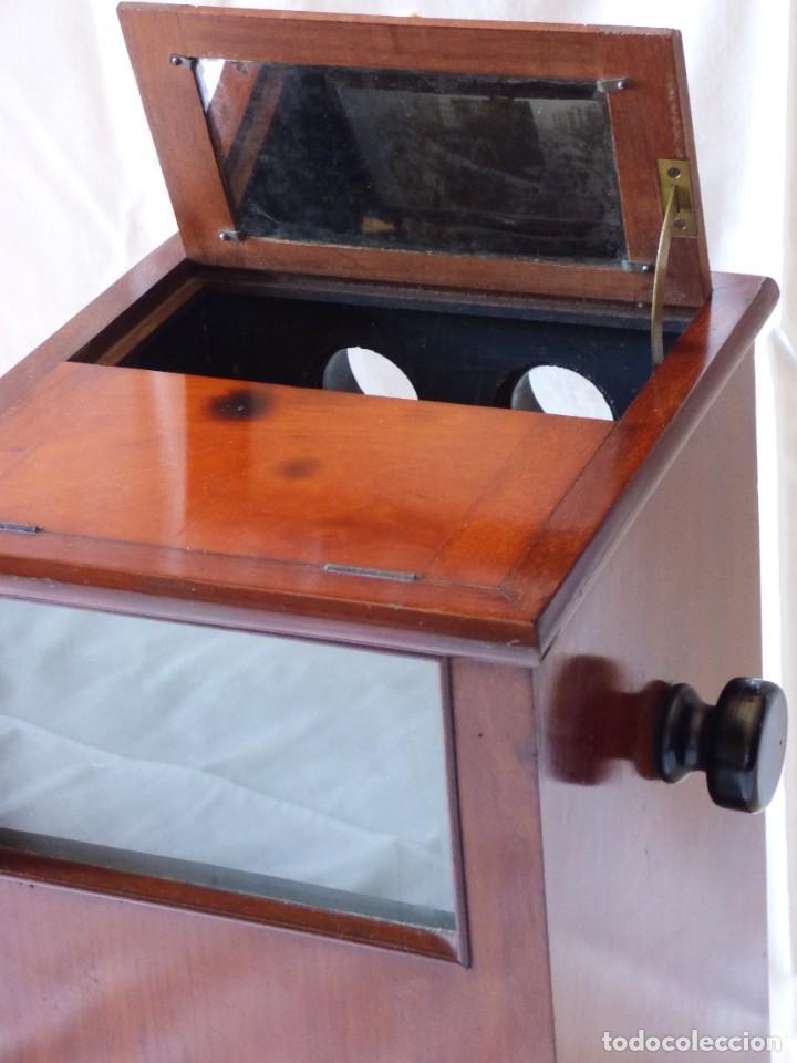Antigüedades: ESTEREOSCOPIO VICTORIANO DEL S. XIX CON 46 ESTEREOSCOPIAS - Foto 10 - 286714793