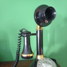 Telefones: TELÉFONO CANDELABRO, AÑO 1973, AMÉRICA TELECOM.CORP.EL MONTE CALIFORNIA. Lote 286803133