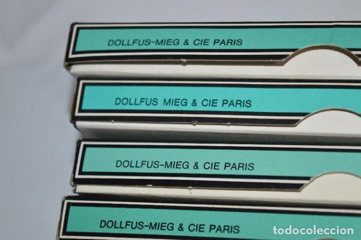 Antigüedades: 81 BOBINAS de HILO antiguas, sin uso / Muchos COLORES - DMC / DOLLFUS MIEG & CIE Paris -- Lote 02 - Foto 14 - 286877283