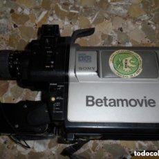 Antigüedades: VIDEOCÁMARA SONY BETAMOVIE BMC-100P. Lote 286880318