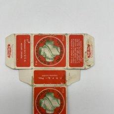 Antigüedades: ANTIGUA CAJA DE ESPARADRAPO DE CARTON. Lote 286911398