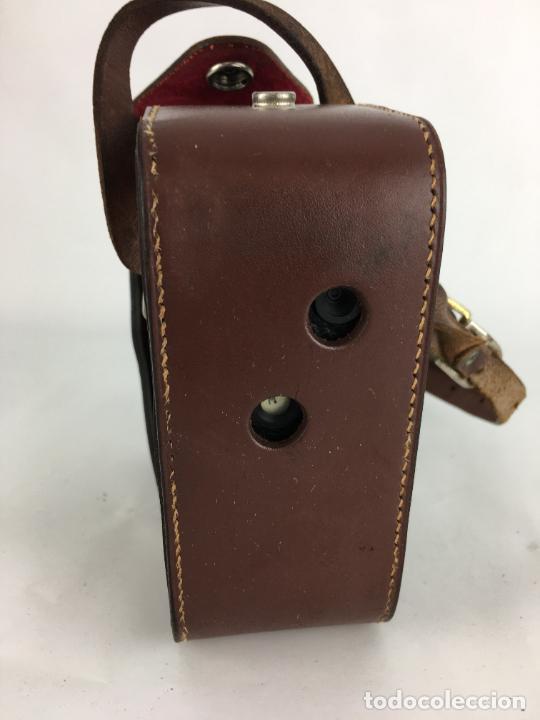 Antigüedades: Lote cámara cine de 8 mm Paillard Bolex B8 1955 Suiza - Foto 18 - 286941298
