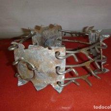Antigüedades: CARLANCA CARRANCA COLLAR DE FORJA PARA PERROS. Lote 286960263