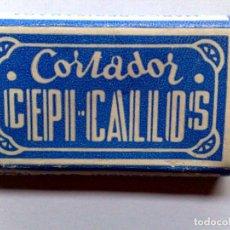 Antigüedades: ANTIGUO ESTUCHE COMPLETO DE 4 CORTADORES,CEPI-CALLOS,CALIDAD INSUPERABLE,SIN USAR.. Lote 286976713