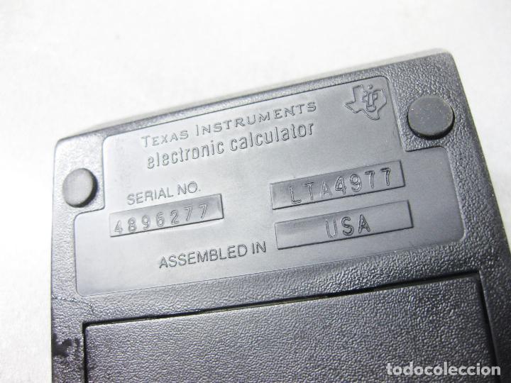 Antigüedades: CALCULADORA TEXAS INSTRUMENTS ELECTRONIC CALCULATOR TI PROGRAMMABLE 57 - Foto 7 - 286998738