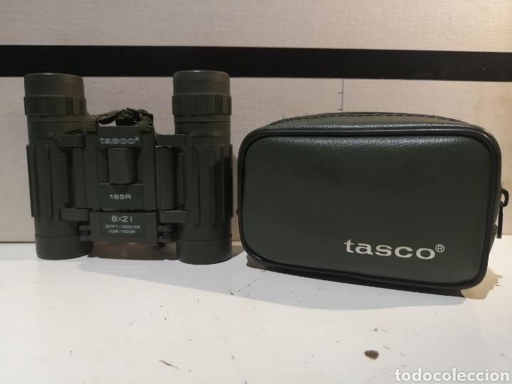PRISMATICOS TASCO 165R 8X21 (Antigüedades - Técnicas - Instrumentos Ópticos - Prismáticos Antiguos)