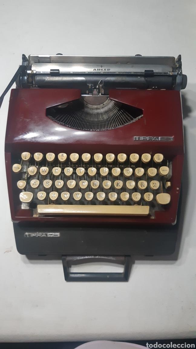 MAQUINA DE ESCRIBIR ADLER MODELO TIPPA (Antigüedades - Técnicas - Máquinas de Escribir Antiguas - Otras)