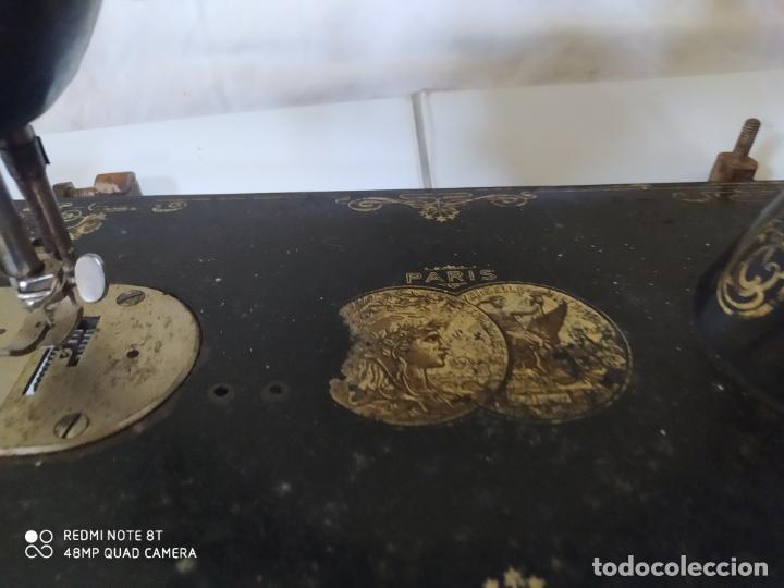 Antigüedades: MAQUINA DE COSER GRITZNER DURLACH (5098/21) - Foto 4 - 287232963