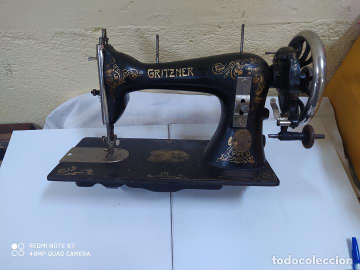 MAQUINA DE COSER GRITZNER DURLACH (5098/21) (Antigüedades - Técnicas - Máquinas de Coser Antiguas - Otras)