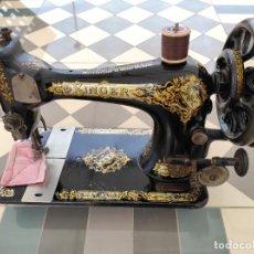 Antigüedades: MAQUINA DE COSER SINGER 1913. Lote 287321318