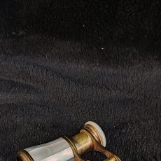 Antigüedades: ANTIGUOS BINOCULOS DE NÁCAR.. Lote 287330148