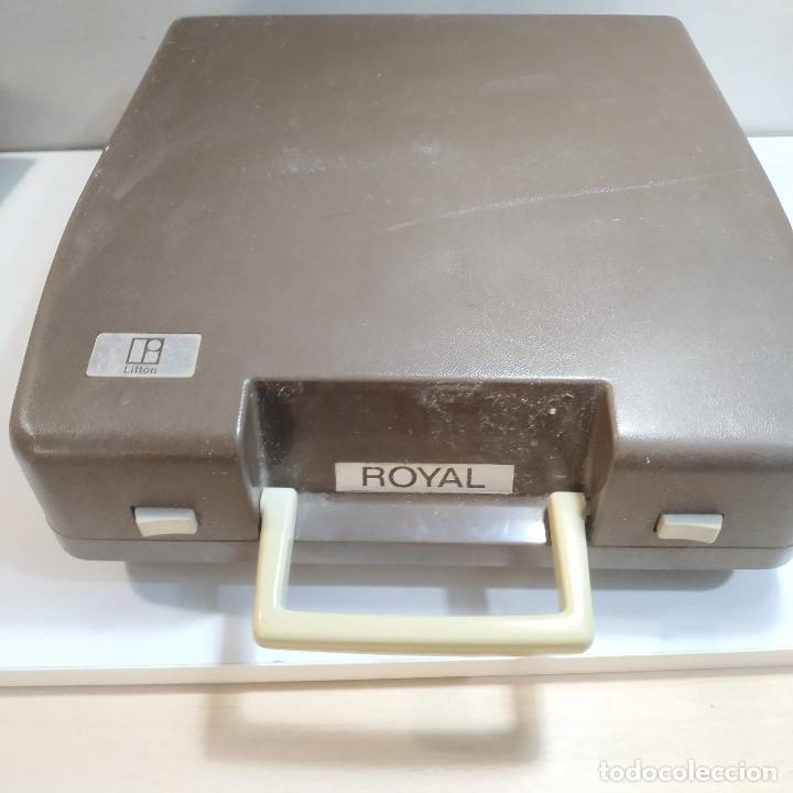 Antigüedades: MAQUINA DE ESCRIBIR ROYAL 202 Fabricada en Japon año 1977 - Foto 20 - 287428978