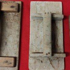 Antigüedades: ANTIGUO LOTE 3 LLANA DE ALBAÑIL. Lote 287570068
