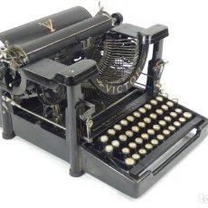 Antigüedades: ANTIGUA MAQUINA DE ESCRIBIR VICTOR Nº2 DE 1909 TYPEWRITER SCHREIBMASCHINE A ECRIRE. Lote 287613603