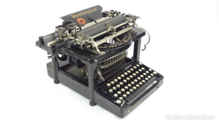 MAQUINA DE ESCRIBIR REMINGTON Nº9 AÑO 1905 TYPEWRITER SCHREIBMASCHINE ECRIRE (Antigüedades - Técnicas - Máquinas de Escribir Antiguas - Remington)