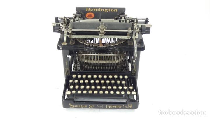 Antigüedades: Maquina de escribir REMINGTON Nº9 AÑO 1905 Typewriter Schreibmaschine Ecrire - Foto 2 - 287619228