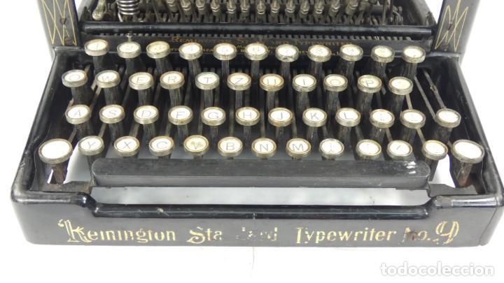 Antigüedades: Maquina de escribir REMINGTON Nº9 AÑO 1905 Typewriter Schreibmaschine Ecrire - Foto 3 - 287619228