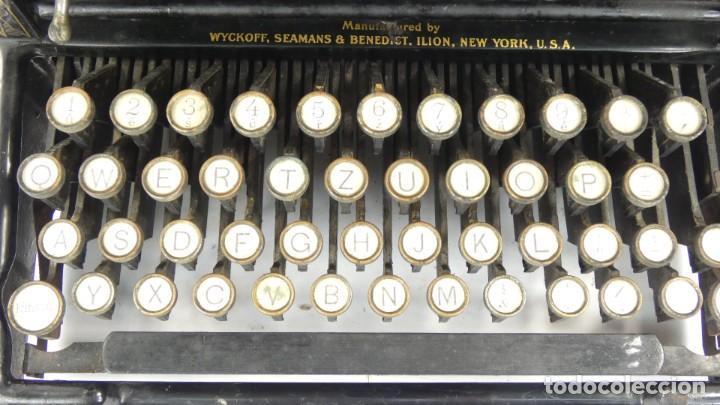 Antigüedades: Maquina de escribir REMINGTON Nº9 AÑO 1905 Typewriter Schreibmaschine Ecrire - Foto 4 - 287619228