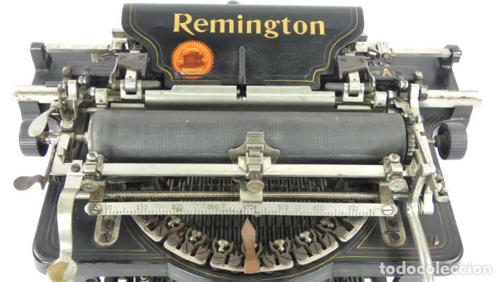 Antigüedades: Maquina de escribir REMINGTON Nº9 AÑO 1905 Typewriter Schreibmaschine Ecrire - Foto 5 - 287619228