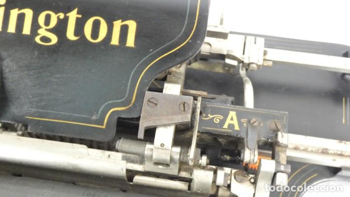 Antigüedades: Maquina de escribir REMINGTON Nº9 AÑO 1905 Typewriter Schreibmaschine Ecrire - Foto 6 - 287619228
