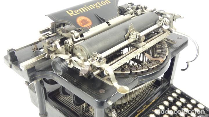 Antigüedades: Maquina de escribir REMINGTON Nº9 AÑO 1905 Typewriter Schreibmaschine Ecrire - Foto 8 - 287619228