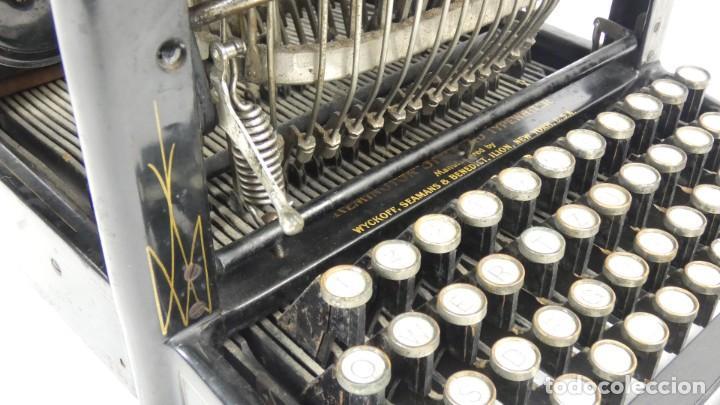 Antigüedades: Maquina de escribir REMINGTON Nº9 AÑO 1905 Typewriter Schreibmaschine Ecrire - Foto 9 - 287619228