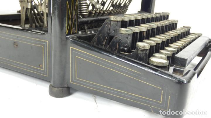 Antigüedades: Maquina de escribir REMINGTON Nº9 AÑO 1905 Typewriter Schreibmaschine Ecrire - Foto 10 - 287619228